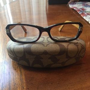 Coach prescribed eyeglasses